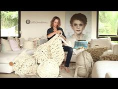 Extreme knitting video tutorials by Little Dandelion. She also has a shop for purchasing the felted roving and needles
