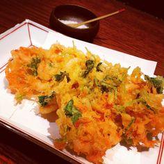Sakura shrimp tempura in a wonderful restaurant: 米福Komefuku in Ebisu. #komefuku #米福 #kaiseki #kaisekiryori #food #foodporn #foodie #foodies #tokyofoodie #tokyofoodmiracle #instafood #sakuraebi #さくらえび #てんぷら #tempura by japanmat
