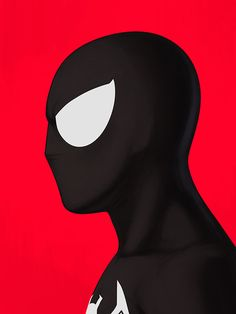 Spider-Man (black) by Mike Mitchell