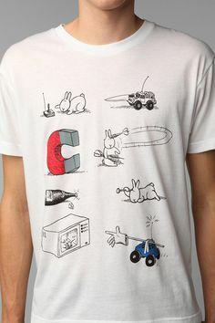 """Résultat de recherche d'images pour """"t shirt Bunny suicides"""" Comic Strips, My Books, Urban Outfitters, Bunny, Comics, My Love, Tees, My Style, Cotton"""