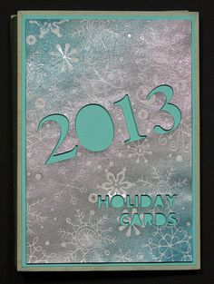 2013 Holiday Card Mini Album