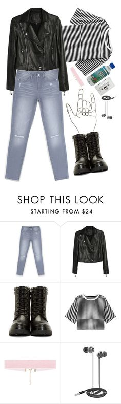 """we ain't ever getting older"" by diamond-ivys ❤ liked on Polyvore featuring Bebe, Paige Denim, Moncler, TIBI, Blink, Nicole Miller, contest, biker and contestentry"