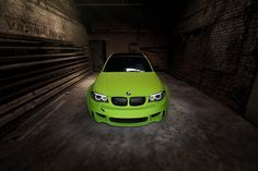 BMW 1 Series M Coupe Wrapped Irie Green