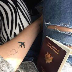 I'm a blue penguin Bff Tattoos, Line Tattoos, Body Art Tattoos, Tatoos, Wrist Tattoos For Women, Tattoos For Women Small, Small Tattoos, Wanderlust Tattoos, Black Heart Tattoos