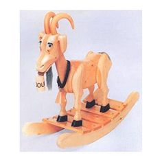 GET   Woodworking Project Paper Plan to Build Bill E. Goat Rocker  #woodworkingproject #tools  MATERIALS NOT INCLUDED, PAPER PLAN ONLY   . #projectplans #woodworkingproject