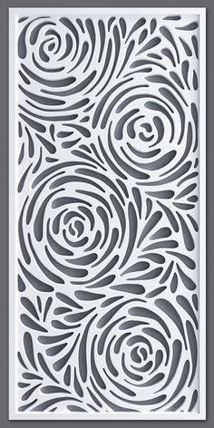Motifs Islamiques, Jaali Design, Stencils, Plasma Cutter Art, Cnc Cutting Design, Room Partition Designs, Laser Cut Panels, Laser Cut Patterns, Creation Art