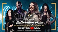 Dustin Rhodes, Britt Baker, Waiting Rooms, Special Guest, Stunts, Youtube, Movies, Movie Posters, Waterfalls