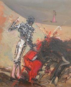 Olé Silverio, 2009 óleo sobre tela 75 x 61