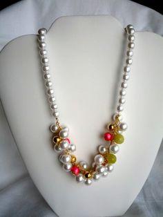 Necklace パールの実ネックレス 3600Yen