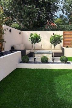 Small garden design 350858627219913935 - Cool and Fresh Backyard Landscaping Ideas Source by Backyard Ideas For Small Yards, Backyard Patio Designs, Small Backyard Landscaping, Landscaping Ideas, Patio Ideas, Mulch Landscaping, Mailbox Landscaping, Backyard Privacy, Backyard Landscape Design