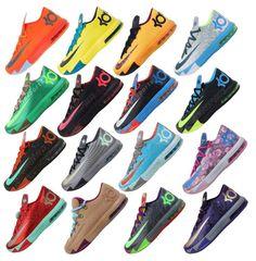 official photos 9bbd7 695bf Nike KD VI 6 Air Max Zoom Thunder Kevin Durant 5 4 Mens Basketball Shoes  Pick 1 i need those