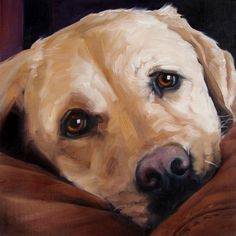 BigLove Moose custom Pet Portrait Oil Painting by puciPetPortraits, $147.00