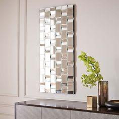 Woven Grid Mirror - West Elm $358.99* on sale