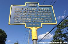 Half Way Hollow Hills District Historical Marker