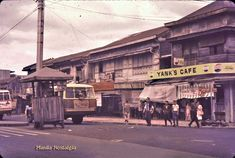 Manila's Public Transportation – a pictorial essay. Philippines Culture, Colorized Photos, Old Street, Filipina, Pinoy, Public Transport, Vintage Photographs, Manila, Old Photos