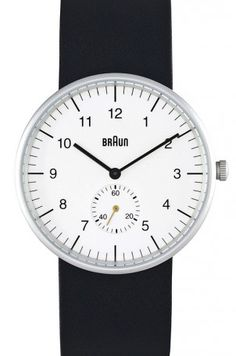 wrist watch : DIETER RAMS BRAUN
