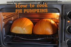 Never use canned again! Its so easy to cook pie pumpkins