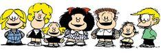 Personajes de la tira Mafalda