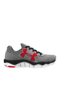 Under Armour Steel  Black Engage Running Shoe - Boy Toddler  Youth Sizes