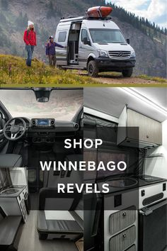 Adventure waits around every bend when you're driving a Winnebago Revel. With the most rugged suspension available on a you'll be able to conquer any mountain and traverse any terrain. Learn more about the at Lazydays! Class B Motorhomes, Motorhomes For Sale, Mercedes Sprinter, Sprinter Van, Van Living, Rv Life, Campervan, Minneapolis, Offroad