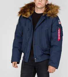 Alpha industries jacke lang