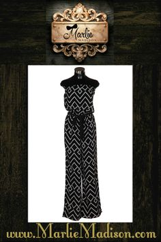 The Moxie Jumpsuit http://www.marliemadison.com/dresses/rompers