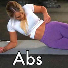 Challenge your abs with this standing abs workout. This belly pooch routine with weights will work your arms and abs. This is the best at home workout for women who want a flat stomach and six pack abs. Easy Ab Workout, Ab Workout At Home, Butt Workout, Workout Challenge, Workout Videos, Gym Workouts, At Home Workouts, Cardio Gym, Ab Workouts With Weights