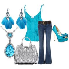 Tropic turquoise, created by jminster on Polyvore