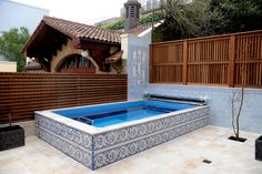 There's no better pool for your patio than the compact, efficient Endless Pool.