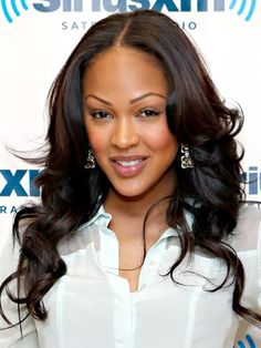 Black Weave Hairstyles for Short, Medium, or Long Hair - Black Extension Hairstyles - Real Beauty (Meagan Good)