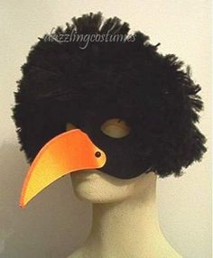 crow: inspiration for Halloween costume