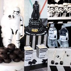Check out this Star Wars birthday party! See more party ideas at CatchMyParty.com!