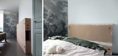 Notre tête de lit multifonctions pour 50 euros* – Misc Webzine Niches, Bedroom, Inspiration, Furniture, Design, Home Decor, Home Ideas, Home Decoration, Biblical Inspiration
