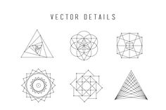 Sacred Geometry Vector Set Vol. 2 comes with 9 NEW completely unique handcrafted design elements!