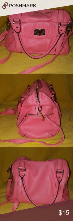 Pink Hand bag Crossbody, Shoulder Bag, Hand bag, Pink Purse, Minimal Wear and Tear At the bottom of the bag. Bags Shoulder Bags
