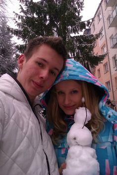 First snow:-)