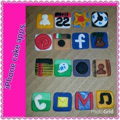 Apps for my granddaughter birthday cake
