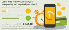 Tide U Over is a responsible payday loans direct lender offering an instant payd