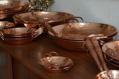 Objetos de cobre artesanias-de-chile-cobre