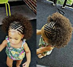 40 Braids for Kids: 40 Braid Styles for Girls When it comes to little girls' hair, braids are a great way to promote hair growth and length retention. Check these 60 gorgeous braids for kids and little girls! Crochet Braids Hairstyles For Kids, Lil Girl Hairstyles, Kids Braided Hairstyles, Braids For Kids, Girls Braids, Hairstyles Haircuts, Bouffant Hairstyles, Fringe Hairstyles, Hairdos