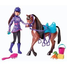 Barbie and Her Sisters in a Pony Tale Skipper and Horse Doll Playset New
