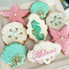 Mermaid Party cookies