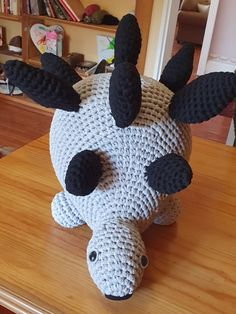 Crotchet, Dinosaur Stuffed Animal, Homemade, Toys, Projects, Animals, Activity Toys, Log Projects, Blue Prints