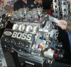 Jon Kaase Ford 429 HEMI; the factory engine that got outlawed by NASCAR