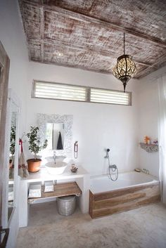 pinned by barefootstyling.com bathroom Villa in Bali
