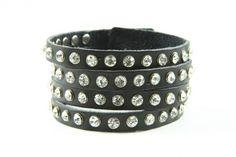 Bratara din piele Fashion black   Wo-Men.ro Fashion Black, Cuff Bracelets, Jewelry, Women, Jewlery, Jewerly, Schmuck, Jewels, Jewelery