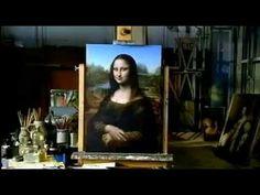 "▶ Leonardo da Vinci ""Mona Lisa"" - YouTube (some sections of video definitely not appropriate for elementary school - 59 min)"