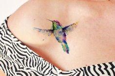 30 ideias de tatuagens incríveis feitas com a técnica de aquarela
