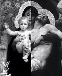 Mary was always there for him.