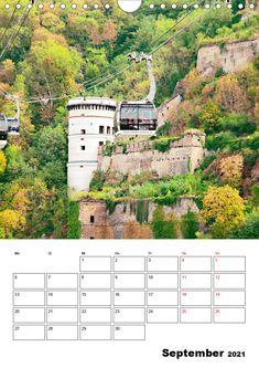 """Kalender: """"Unterwegs in Koblenz - eine Stadt mit Flair"""" Eine spannende Fotoreise mit bekannten Sehenswürdigkeiten von Koblenz. (Planer, 14 Seiten ) Planer, Germany, Pictures, Ruins, Old Town, Calendar, Deutsch"""